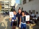 מאמן מכבי לוד יעקב וולוך עם אלופי איגרוף 2013