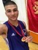 מדליית זהב למוחמד - טורניר איגרוף לנוער במונטנגרו