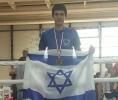 דני זוכה במדליית ארד - זאגרב 2016