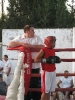 Boxing ring - Nesher amateur boxing tournament 2012